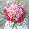 Bouquet composé de roses