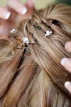 pics a cheveux pour mariage