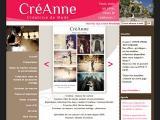 creanne : création robe de mariée sur mesure -  - Meurthe et Moselle (villers les nancy)
