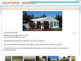 Location Tentes et Chapiteaux -  - Var (TOULON)