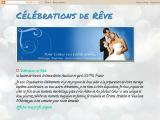 célébrations de rêve - wedding planner et salons du mariage - Drôme (la baume de transit)
