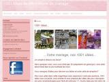 La deco de mariage -  - Seine et Marne (Yèbles)
