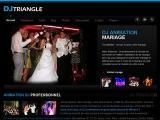 DJ Triangle animation mariage -  - Gard (nimes)