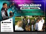 Artiste magicien Patrick Bieques illusionniste close-up spectacle enfants magie Paris France -  - Essonne ()