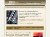CEDRIC ANIMATION -  - Moselle (ste marie aux chenes)