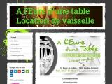 A l'Eure d'une table -  - Eure (houlbec cocherel)