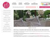 JOLI JOUR // Location housses de chaises et déco -  - Vienne (POITIERS)